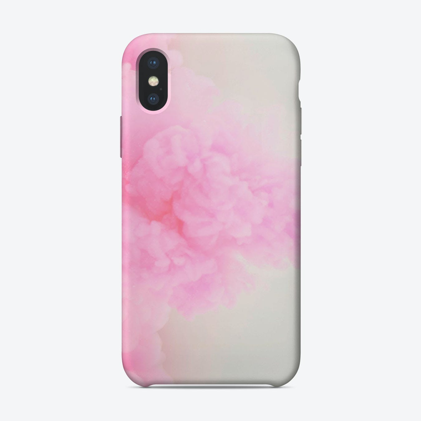 Pink Dust iPhone Case
