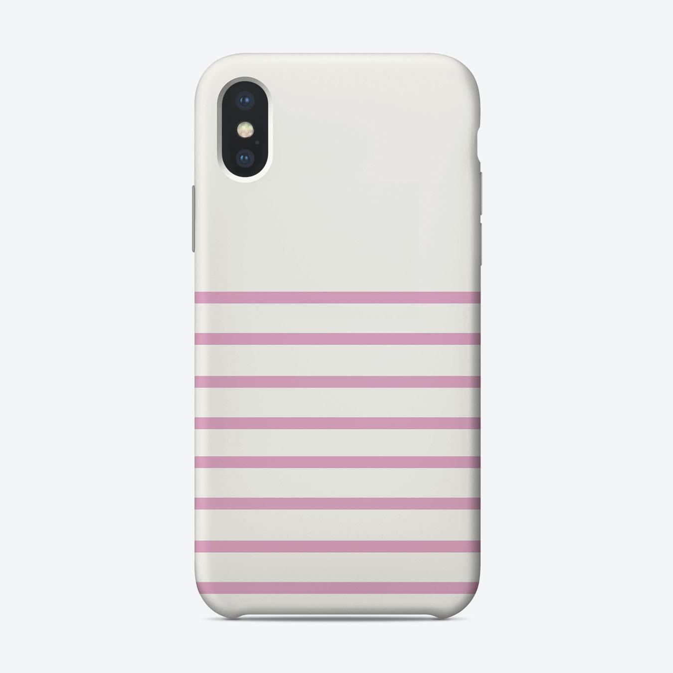 the best attitude 47727 6e4eb Pink Stripes iPhone Case