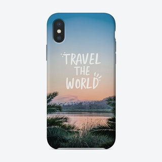 Travel The World iPhone Case