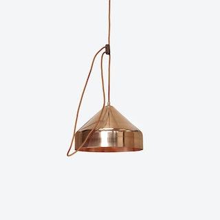 Lloop Pendant Lamp in Polished Copper