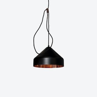 Lloop Pendant Lamp in Copper & Black