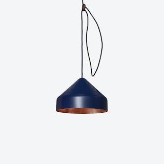 Lloop Pendant Lamp in Copper & Blue