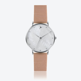 MOP Watch in Rose Gold ⌀38