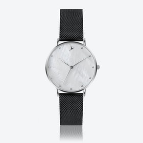 MOP Watch in Black ⌀38