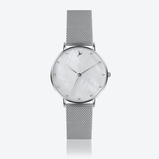 MOP Watch in Silver ⌀38