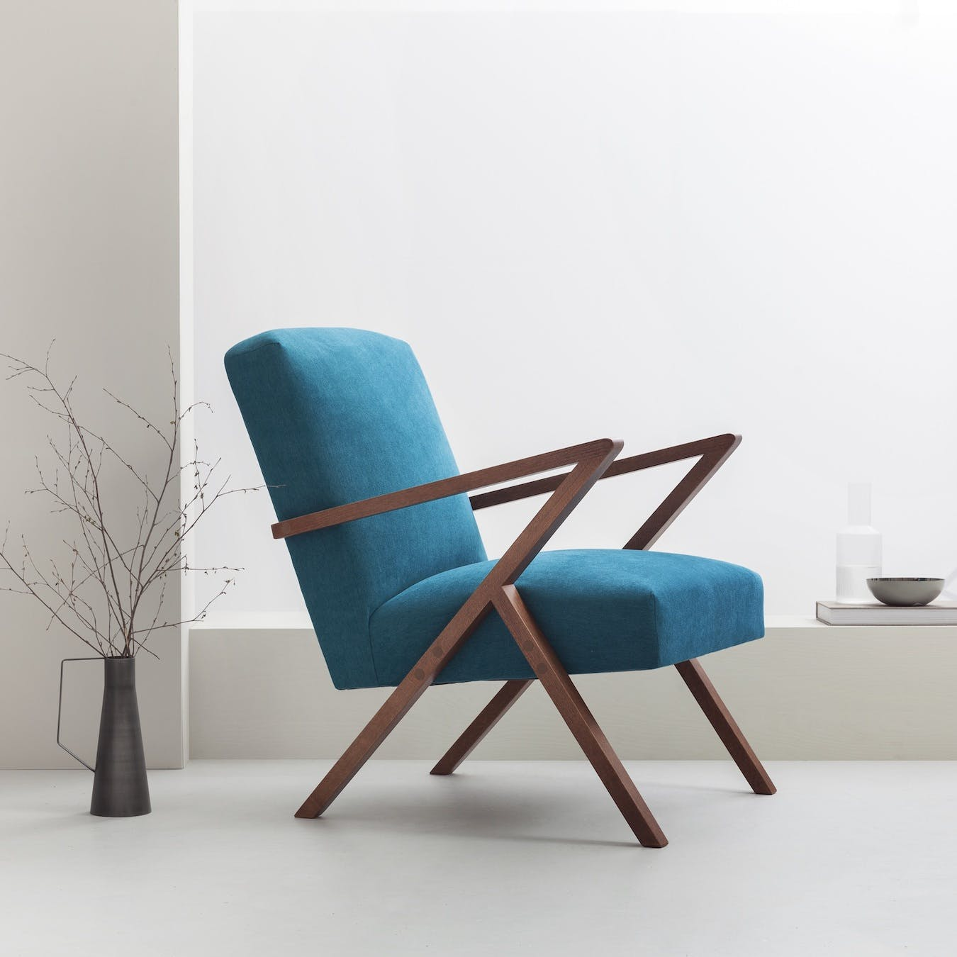 Retrostar Chair - Basic Line in Turquoise