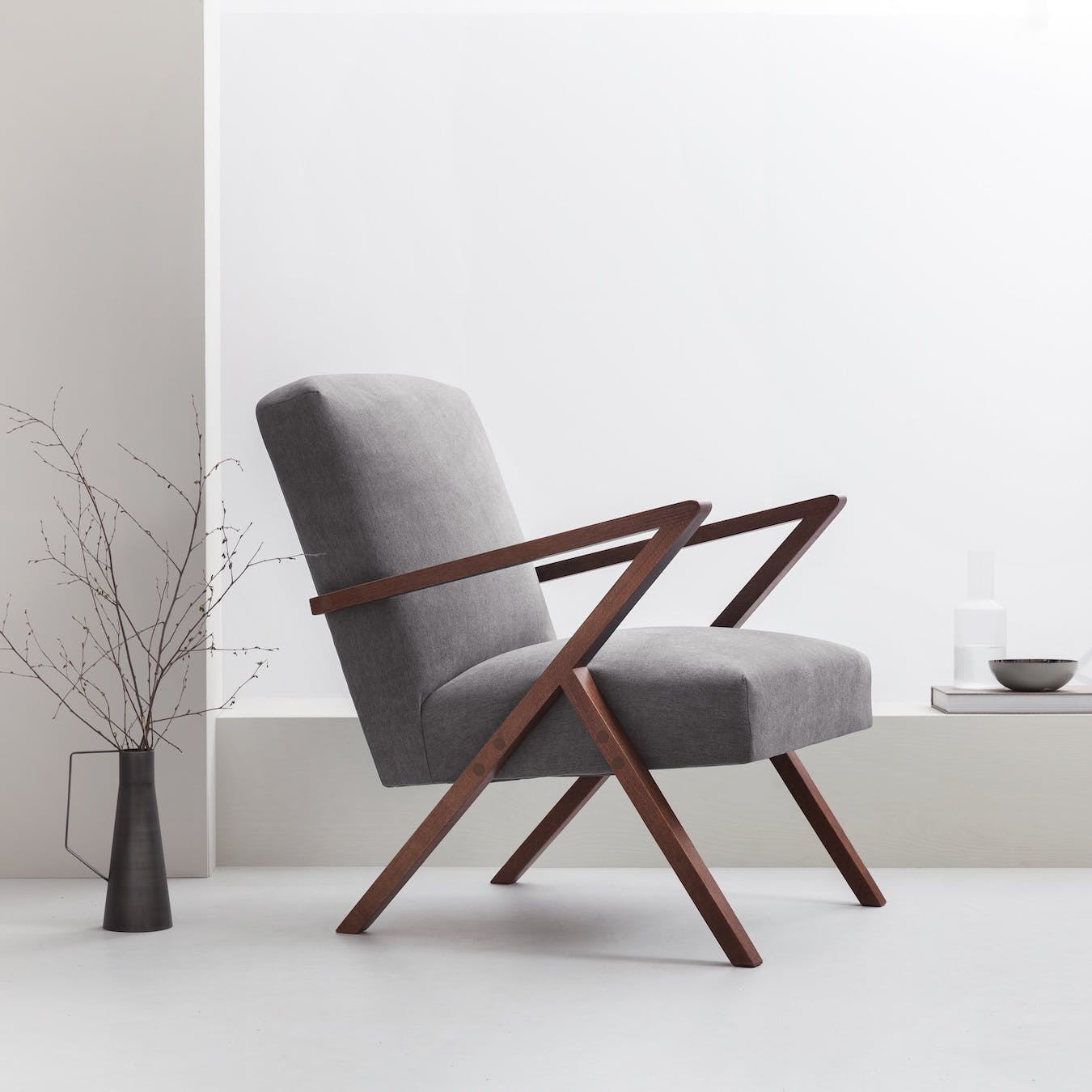 Retrostar Chair - Basic Line in Grey