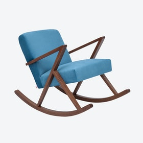 Retrostar Rocker - Velvet-Line in Ocean-Blue