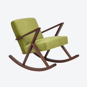 Retrostar Rocker - Velvet-Line in Apple-Green
