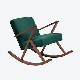 Retrostar Rocker - Velvet-Line in Hunter-Green