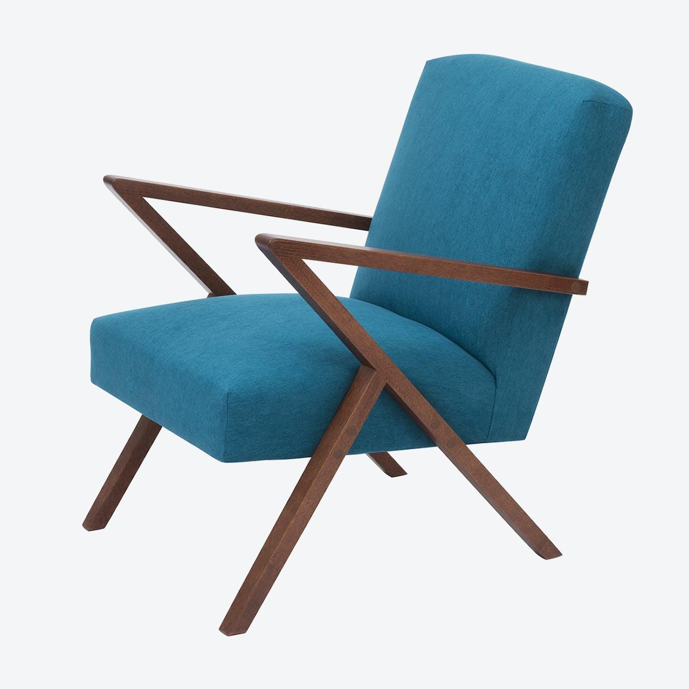 Retrostar Chair - Basic Line in Turquoise