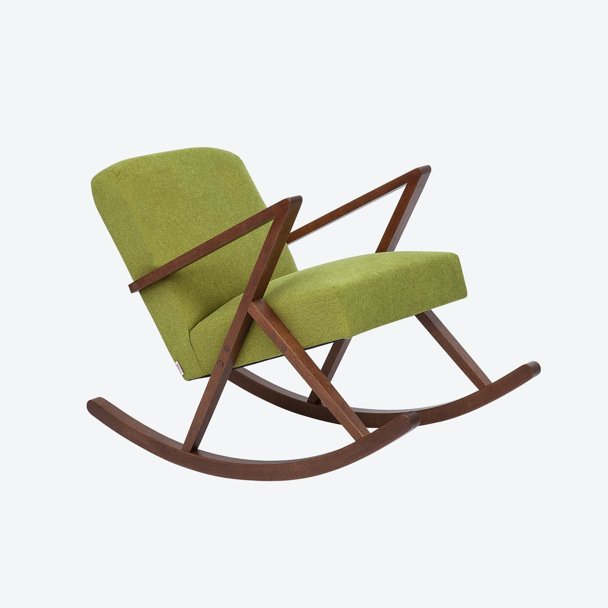 Retrostar Rocker - Basic-Line in Mustard-Green