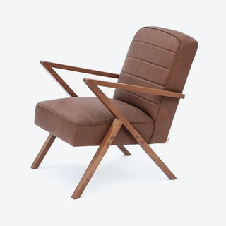 Retrostar Chair in Leather