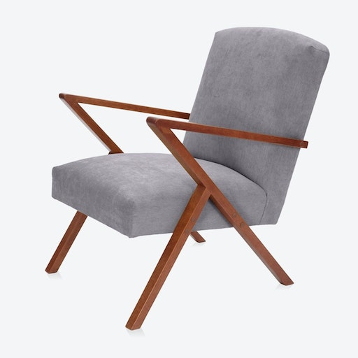 Retrostar Chair - Basic Line in Grey