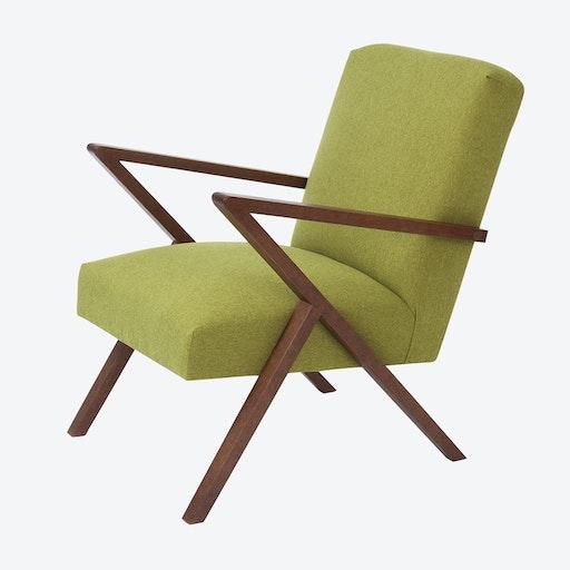 Retrostar Chair - Basic Line in Mustard Green
