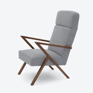 Retrostar Lounge Chair - Basic-Line in Grey
