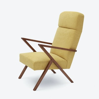 Retrostar Lounge Chair - Basic-Line in Yellow
