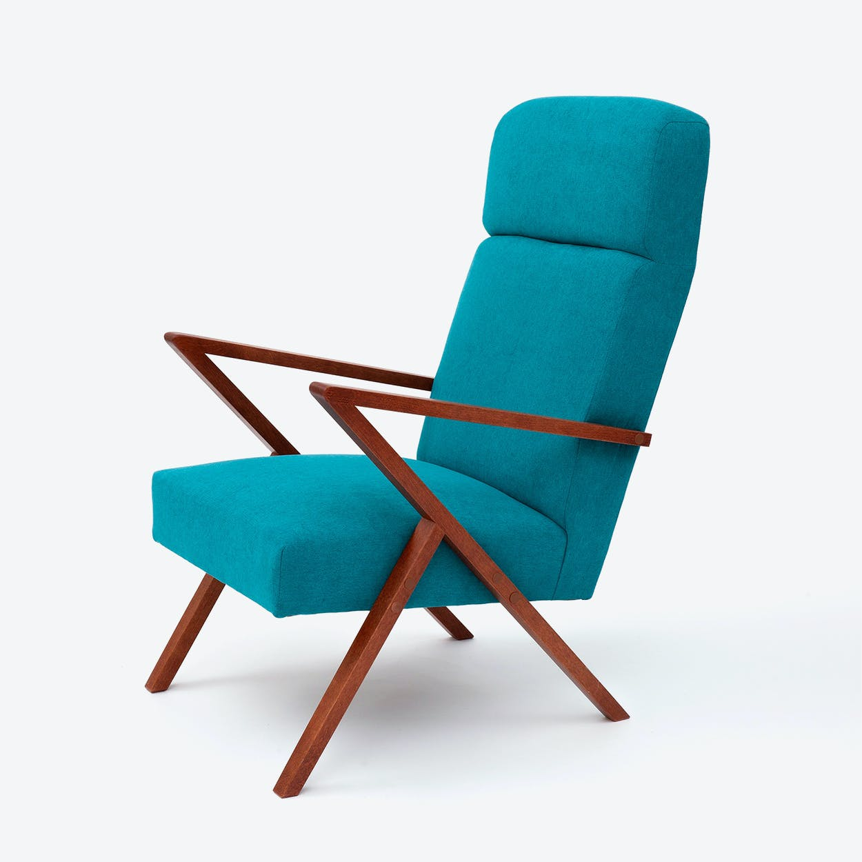Retrostar Lounge Chair - Basic-Line in Turquoise