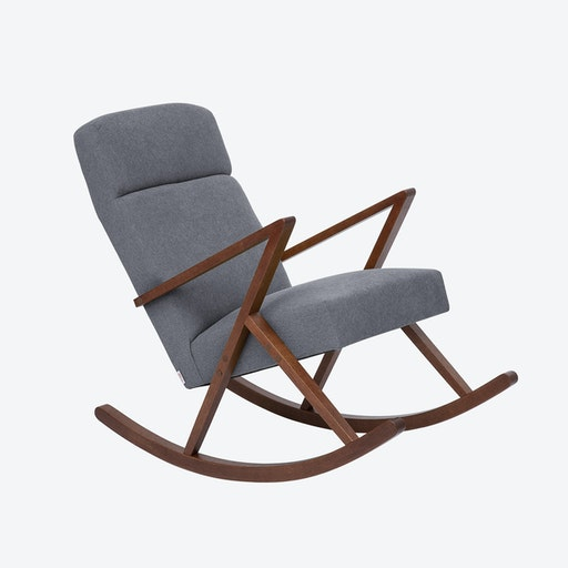 Retrostar Lounge Rocker - Basic-Line in Grey