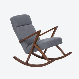 Retrostar Lounge Rocker - Basic-Line in Grey