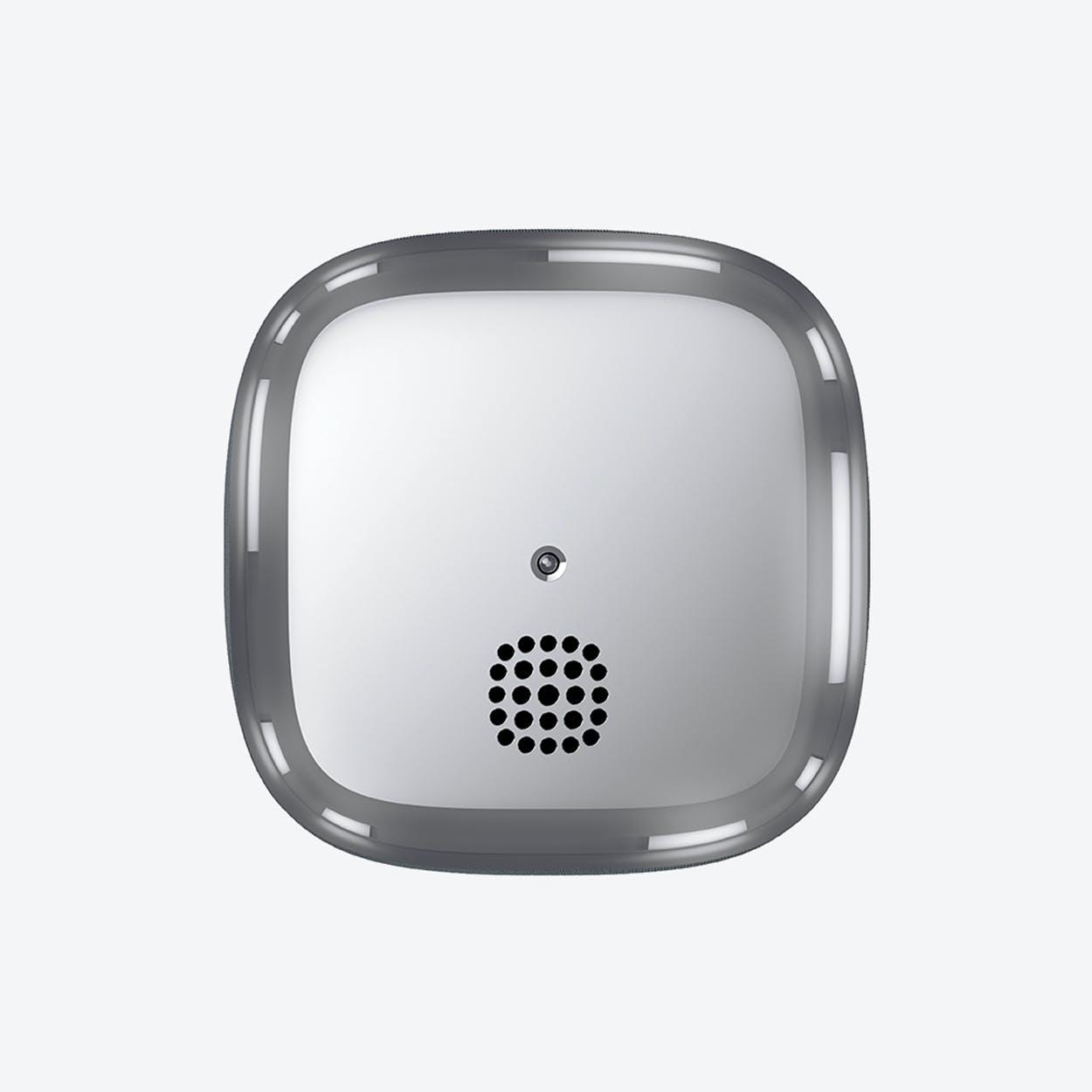 KUPU 10 Smoke Alarm in Chrome
