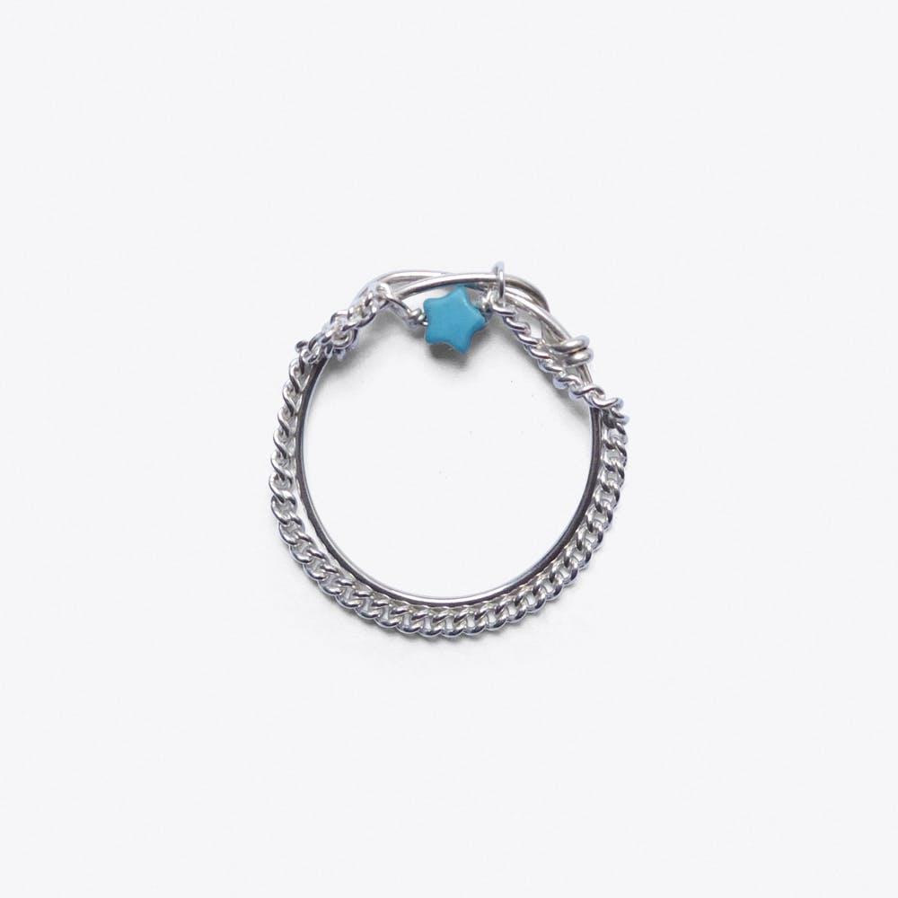 Jatoba Ring in Silver