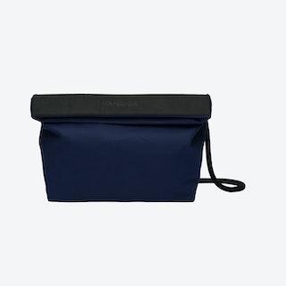 Handbag in Navy and Charcoal