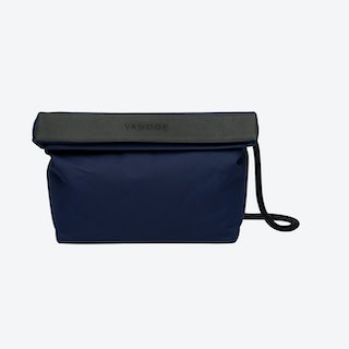 Handbag in Navy and Stone