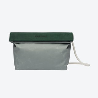 Handbag in Oyster and Malachite