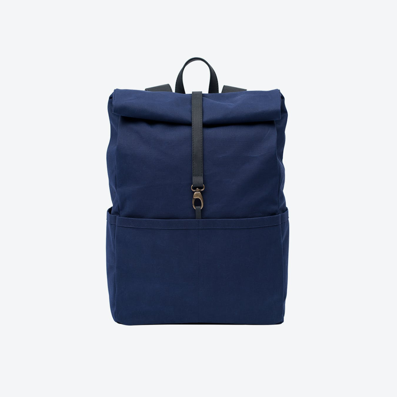Backpack in Navy and Charcoal