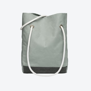 Shopper Bag in Oyster and Stone