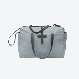 Travel Bag in Oyster and Stone
