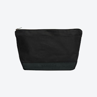 Wash Bag in Charcoal