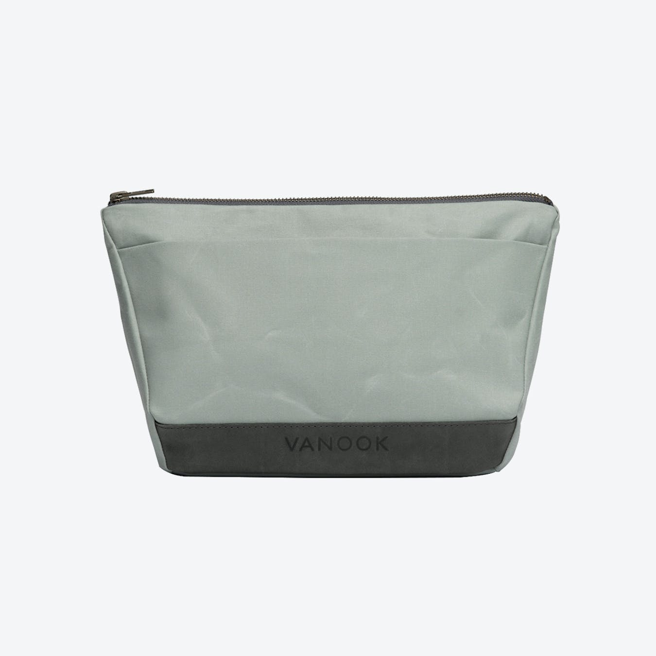 Wash Bag in Oyster and Stone