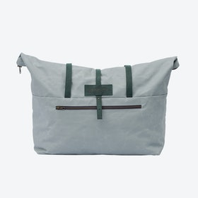 Weekender Bag in Oyster and Malachite