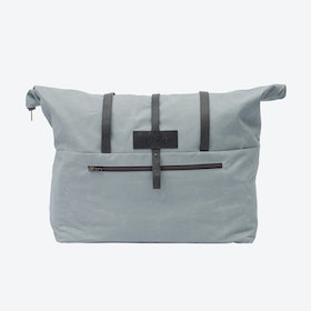 Weekender Bag in Oyster and Stone