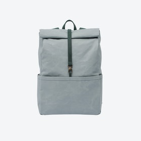 Backpack in Oyster and Malachite
