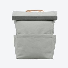 Regular Backpack in Grey Nude