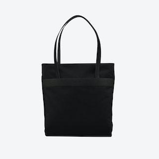 Shopper Bag in Total Black