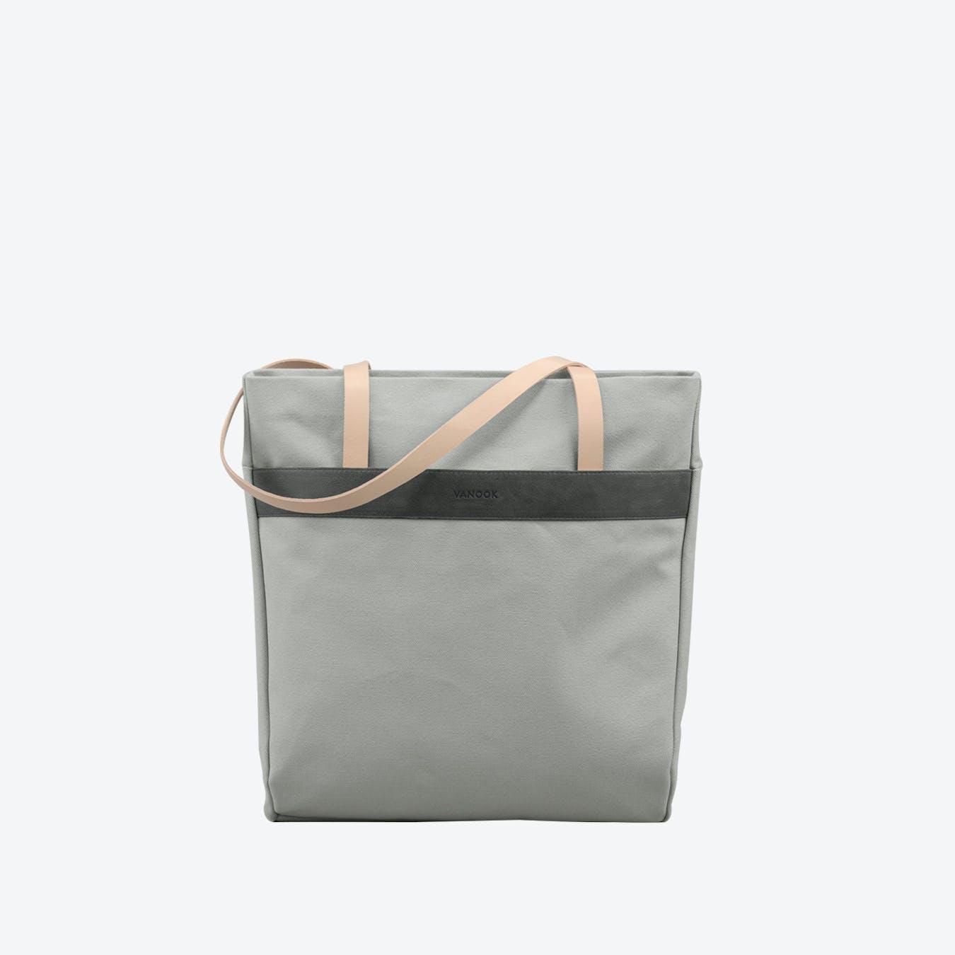 Shopper Bag in Grey Nude