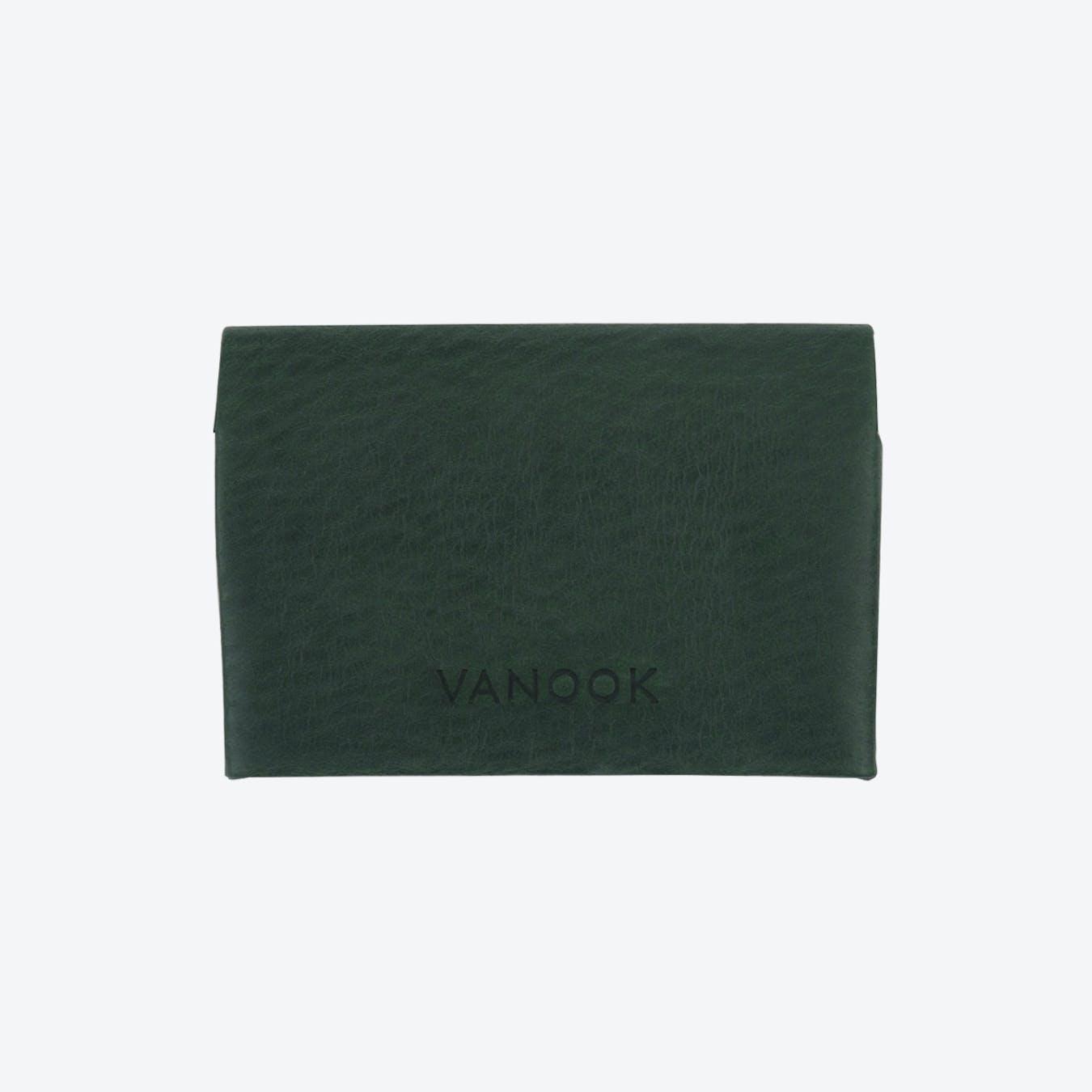 Small Wallet in Malachite