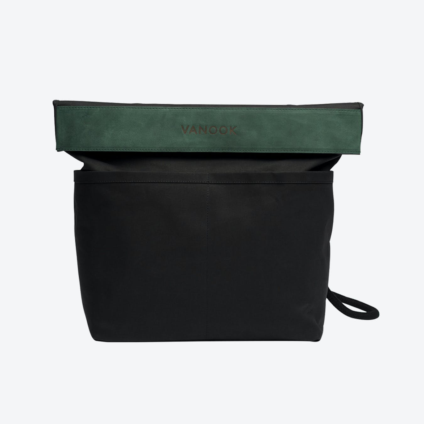 Dual Backpack in Charcoal and Malachite