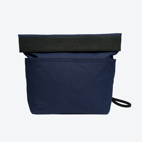Dual Backpack in Navy and Charcoal