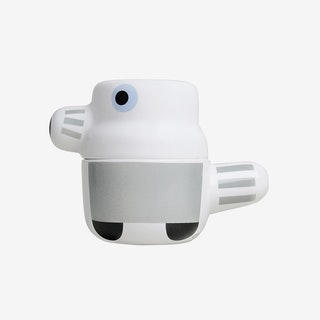 The Pet - Ceramic Pot with Lid / Gray