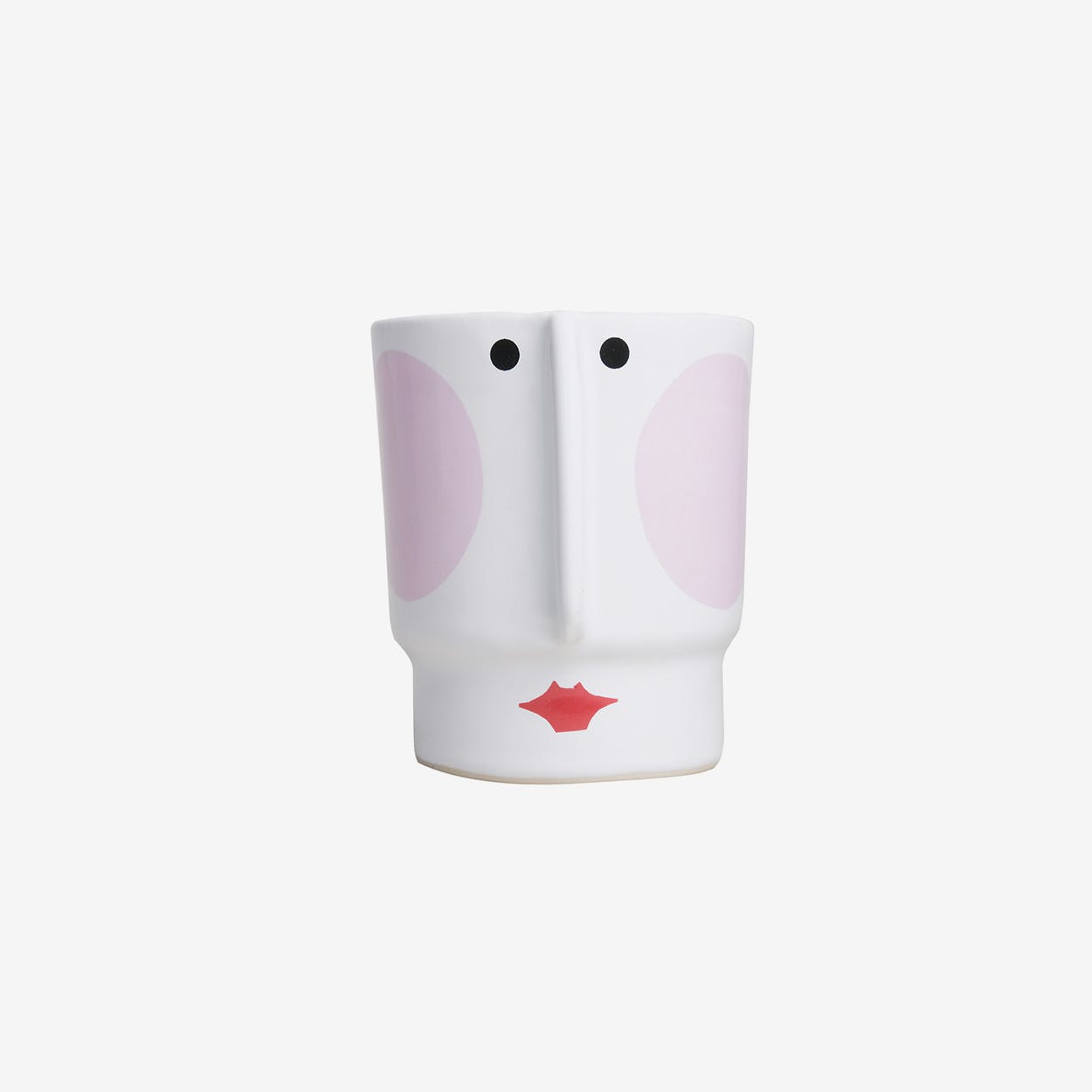 Hedvig Ceramic Pot Small / Pink