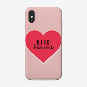 Merci Beaucoup iPhone Case
