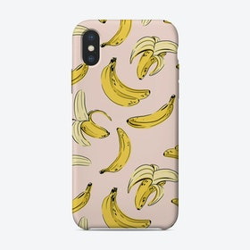 Pink Banana iPhone Case