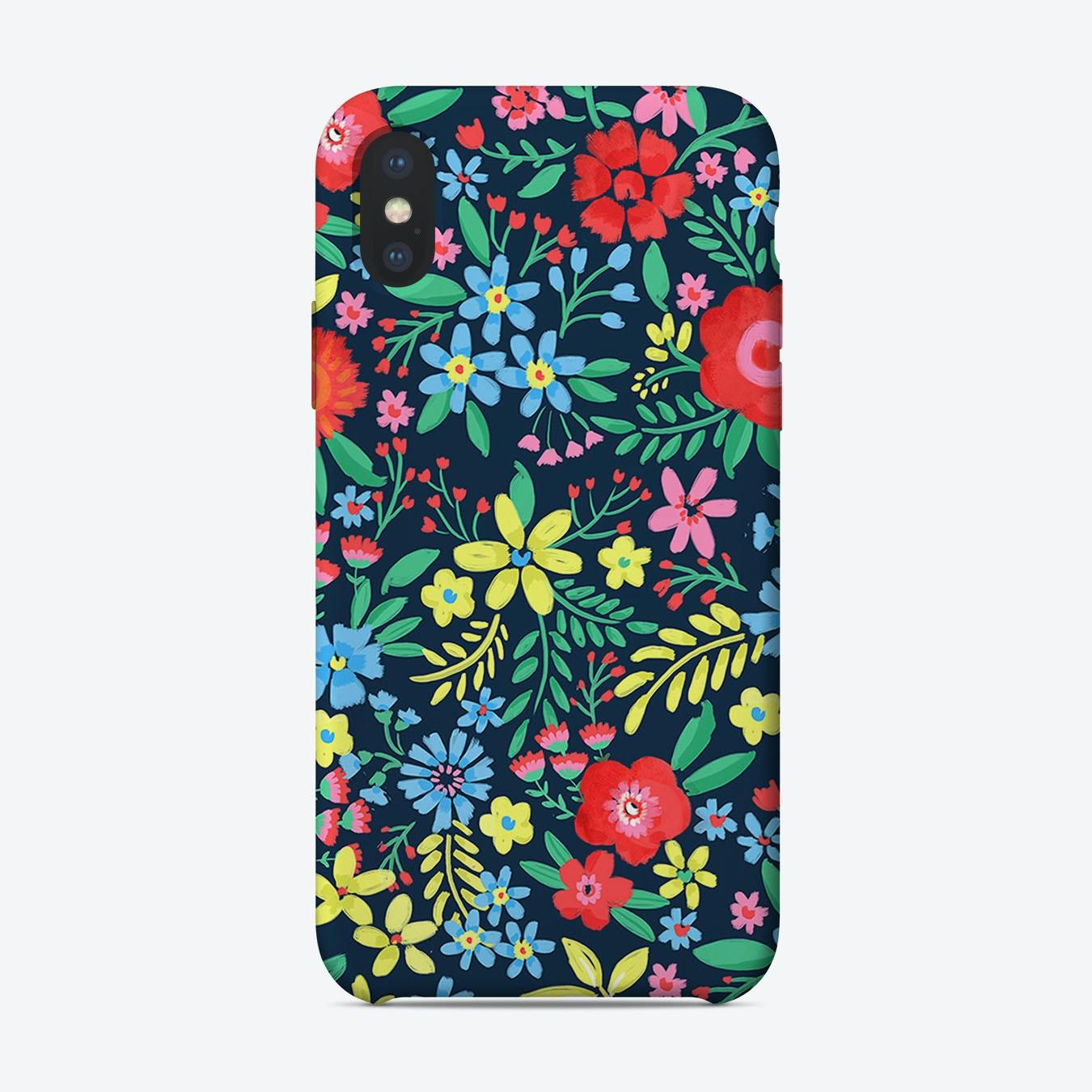 new concept eec88 9ec42 Bright Floral iPhone Case