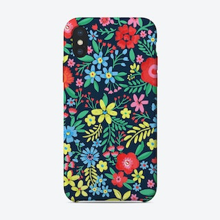 Bright Floral iPhone Case