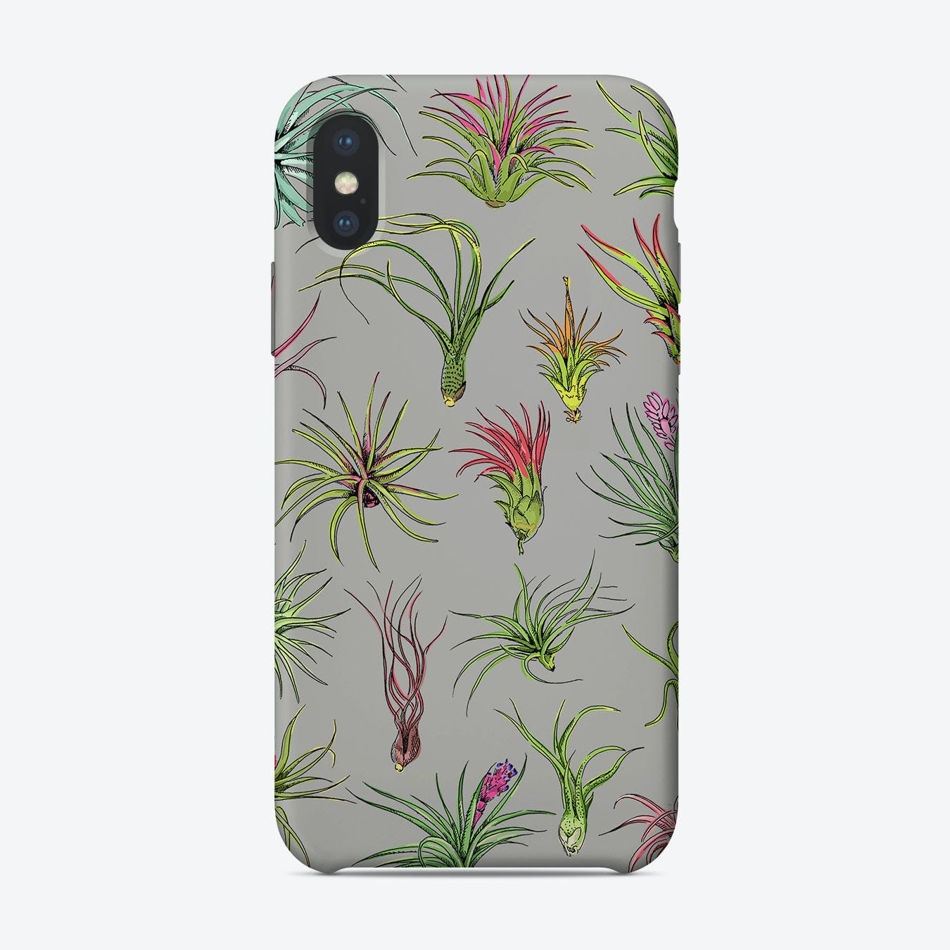 Airplants Grey iPhone Case